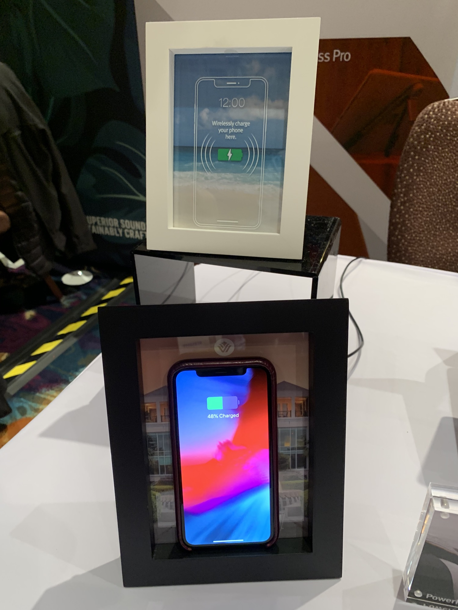 CES – Twelve South's PowerPic Hides a Wireless Charger in Plain Sight