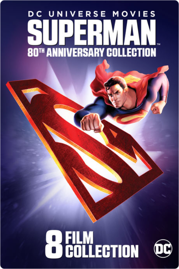 image of superman 80th anniversary collection