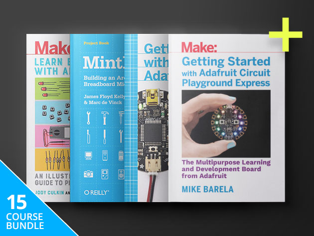 Arduino Hacker eBook Bundle: $19.99
