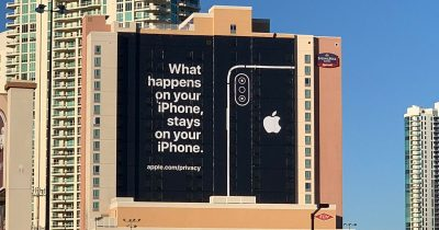 What happens on your iPhone, stays on your iPhone