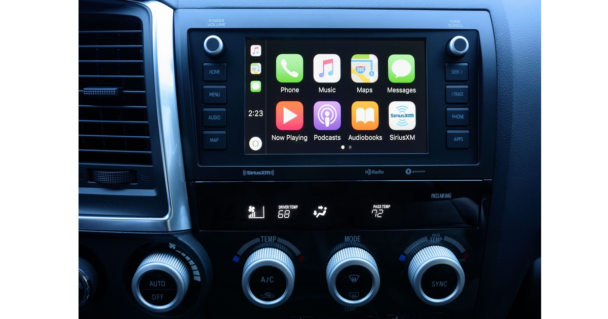 Toyota and Volkswagen Vehicles Getting CarPlay Support ...