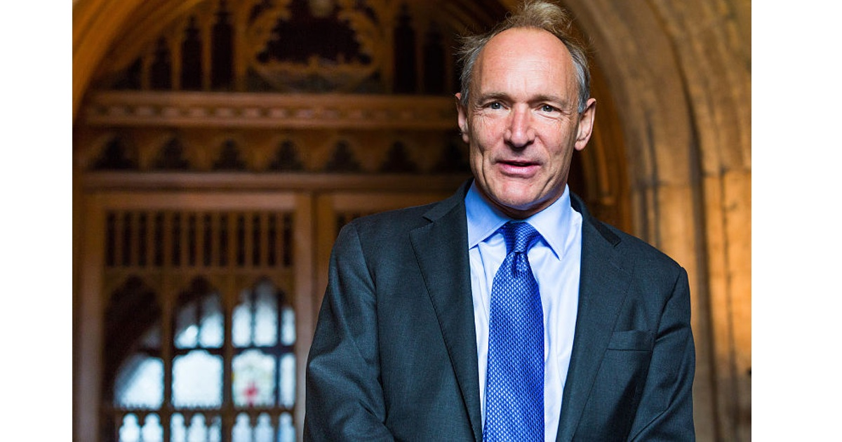 Sir Tim Berners-Lee Wants to Fix the Web with New Startup