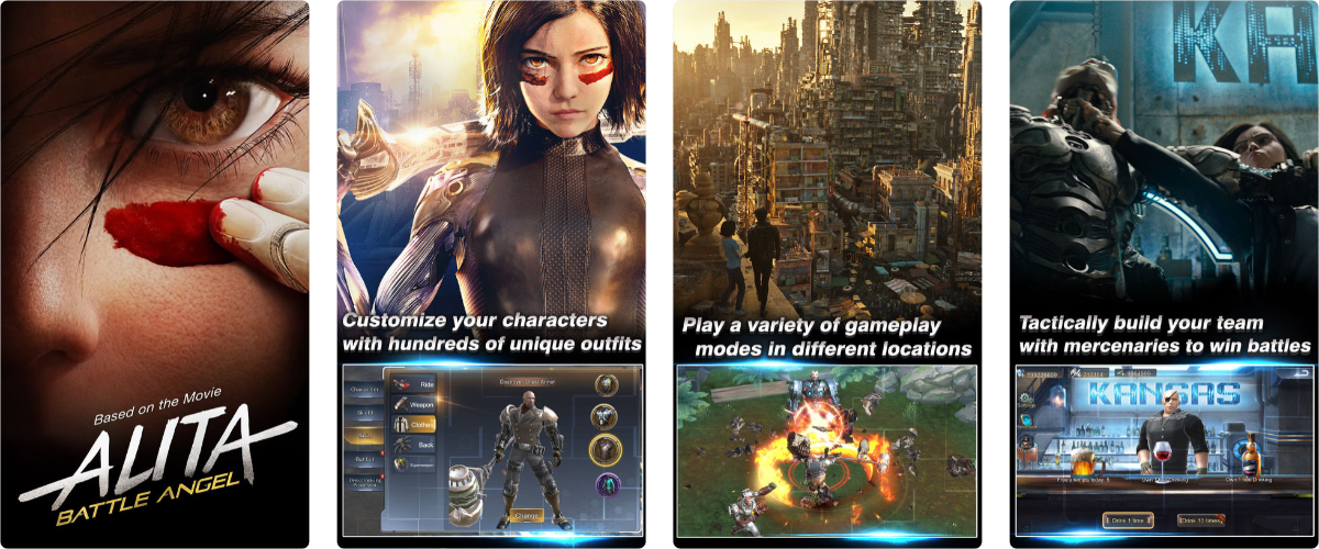 Play the Alita Battle Angel Game on iOS