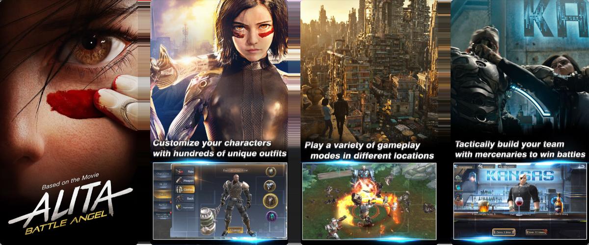 Play the Alita Battle Angel Game on iOS