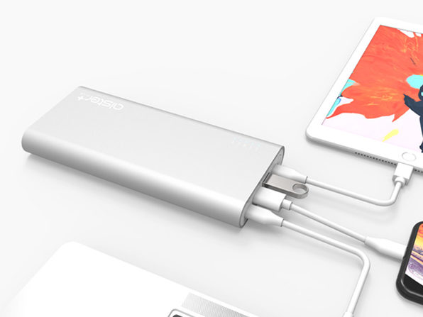 This 27,000mAh Portable Battery Comes with a 2 USB-C Hub to Charge Multiple MacBook Pros at Once: $179