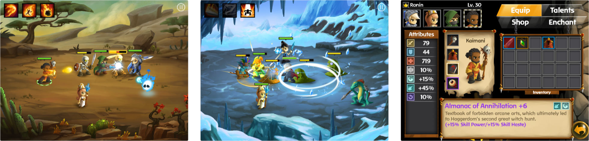 Battleheart 2 Gives You Cute Heroes to Battle Monsters