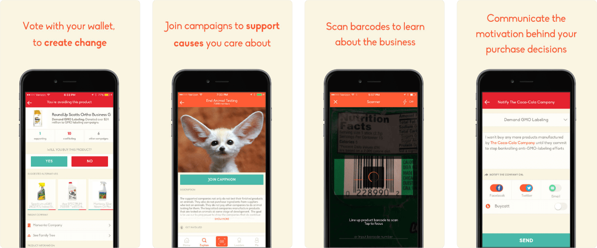 Buycott Lets You Make Value-Based Shopping Decisions