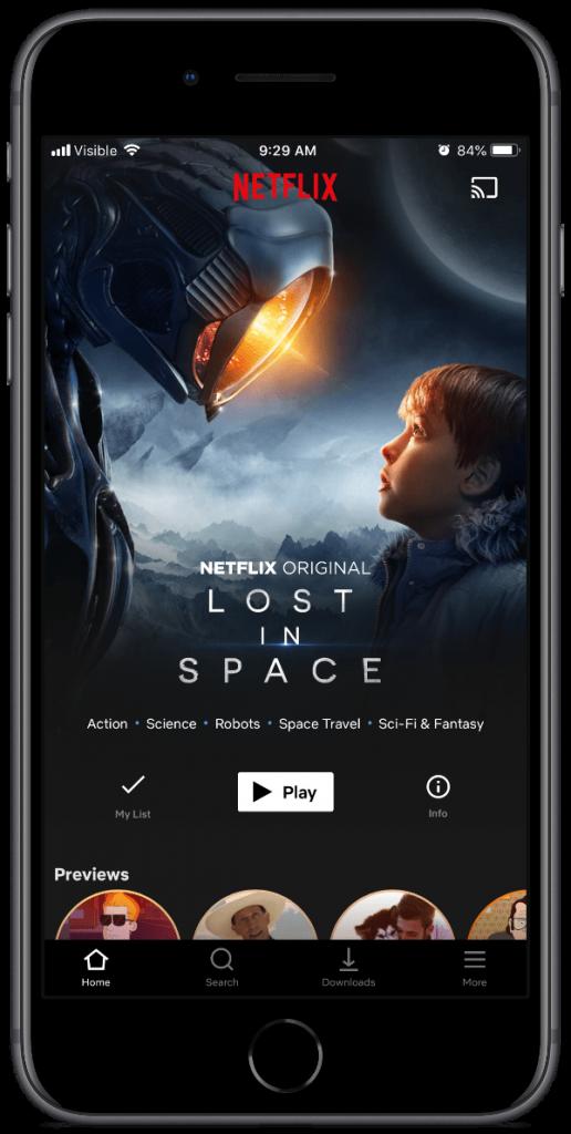netflix smart downloads