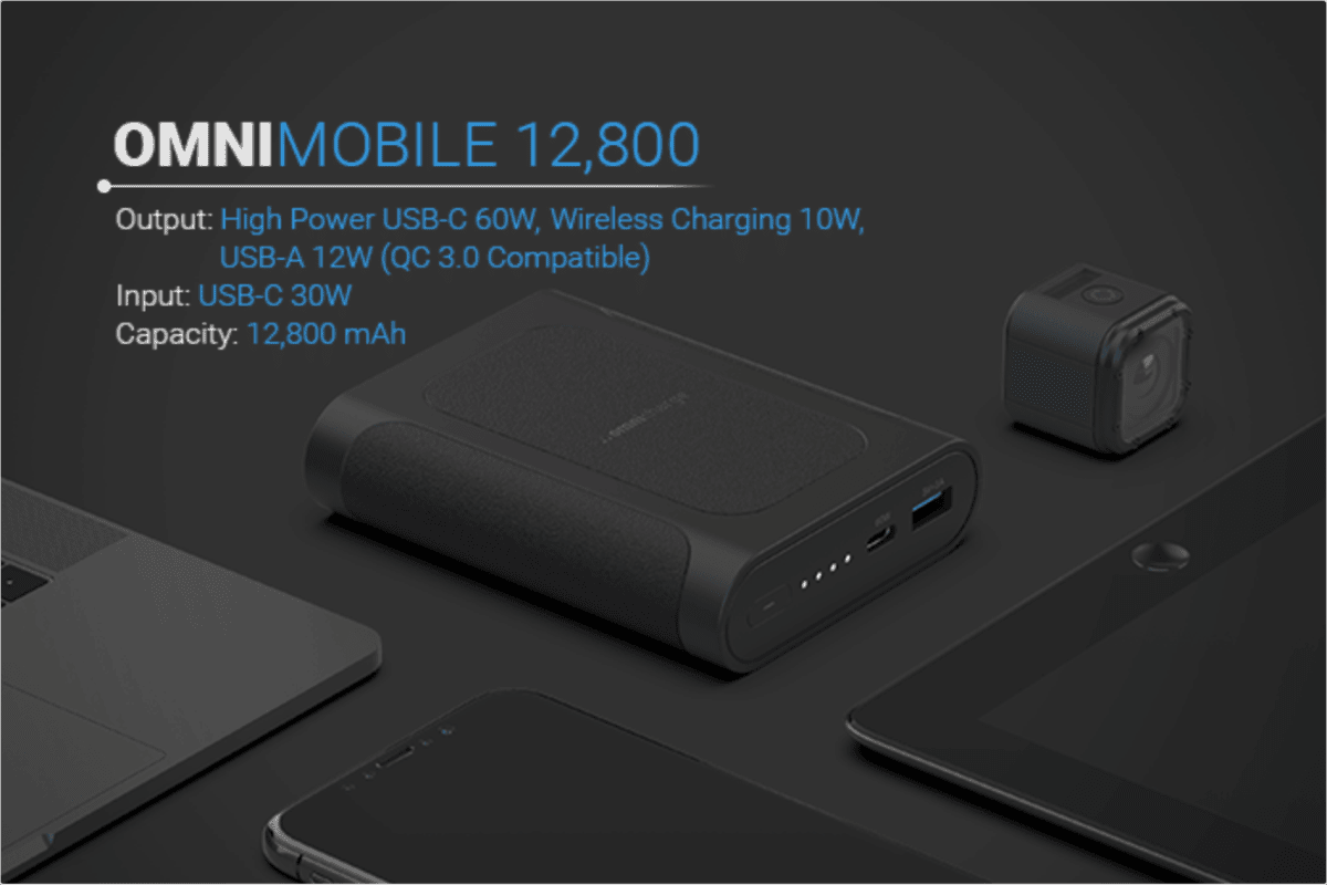 Omnicharge is Launching a 12,800mAh Power Bank for $69