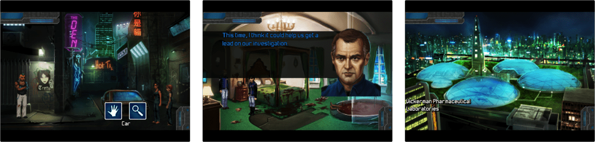 Technobabylon is a Cyberpunk Game Full of Adventure