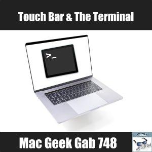 Touch Bar & The Terminal