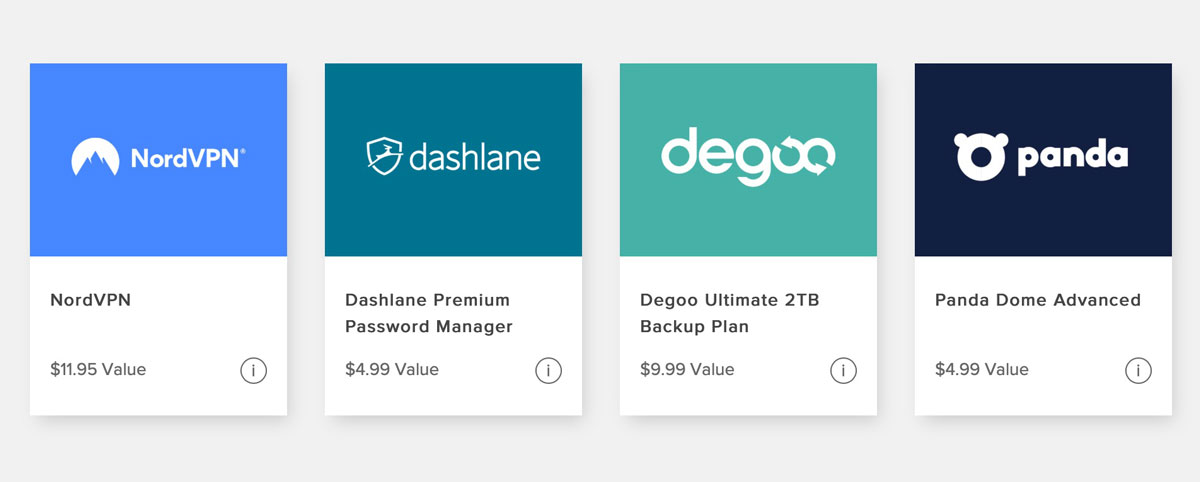 Digital Security Monthly Bundle Featuring NordVPN, Dashlane, Degoo, Panda: $9.99 per Month