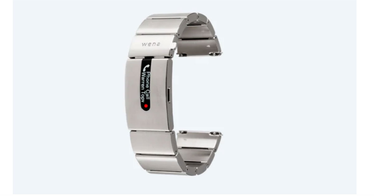 A Sony Smart Watch Strap That Costs as Much as an Apple Watch