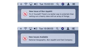 Appe News Magazines Sub notifications