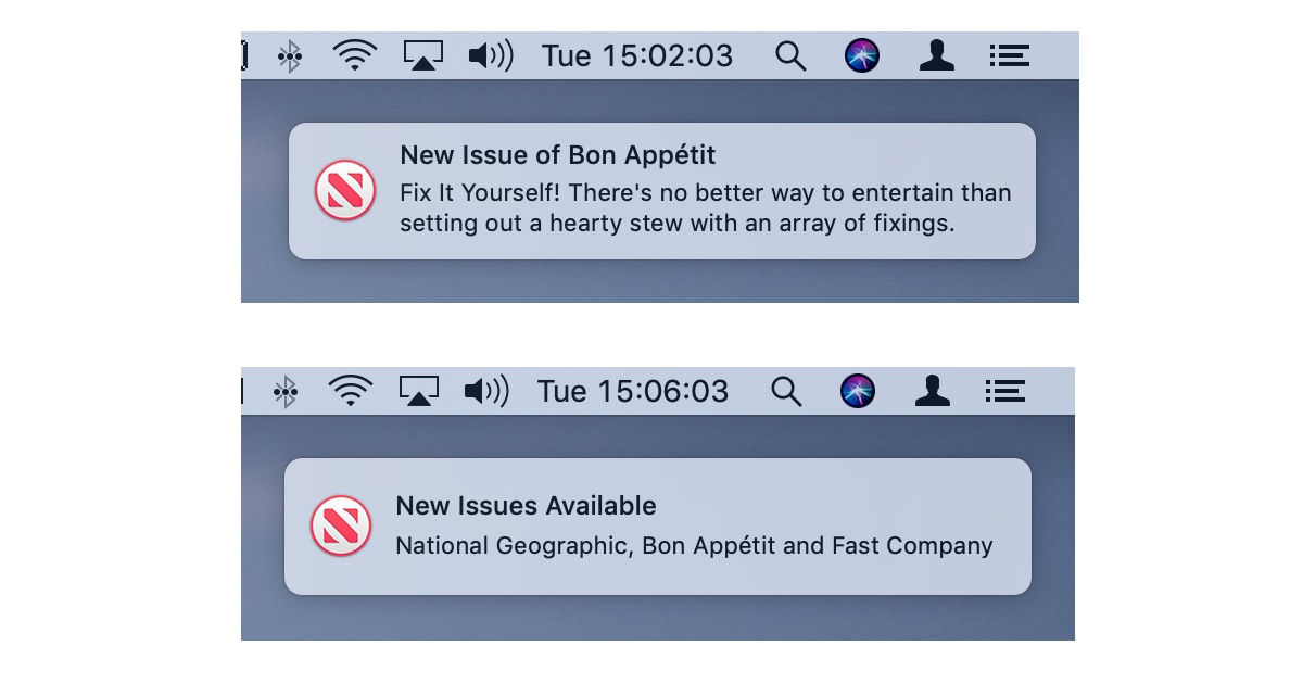 Apple News Magazine Subscriptions Heading for macOS