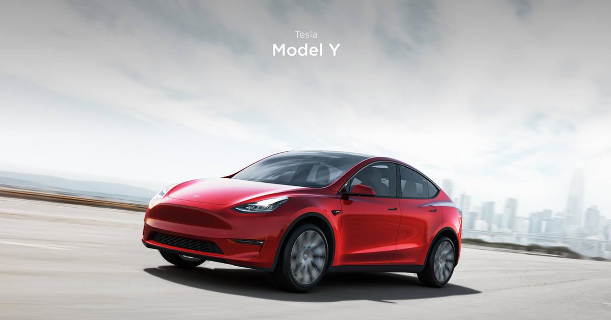 New Tesla Model Y Unveiled