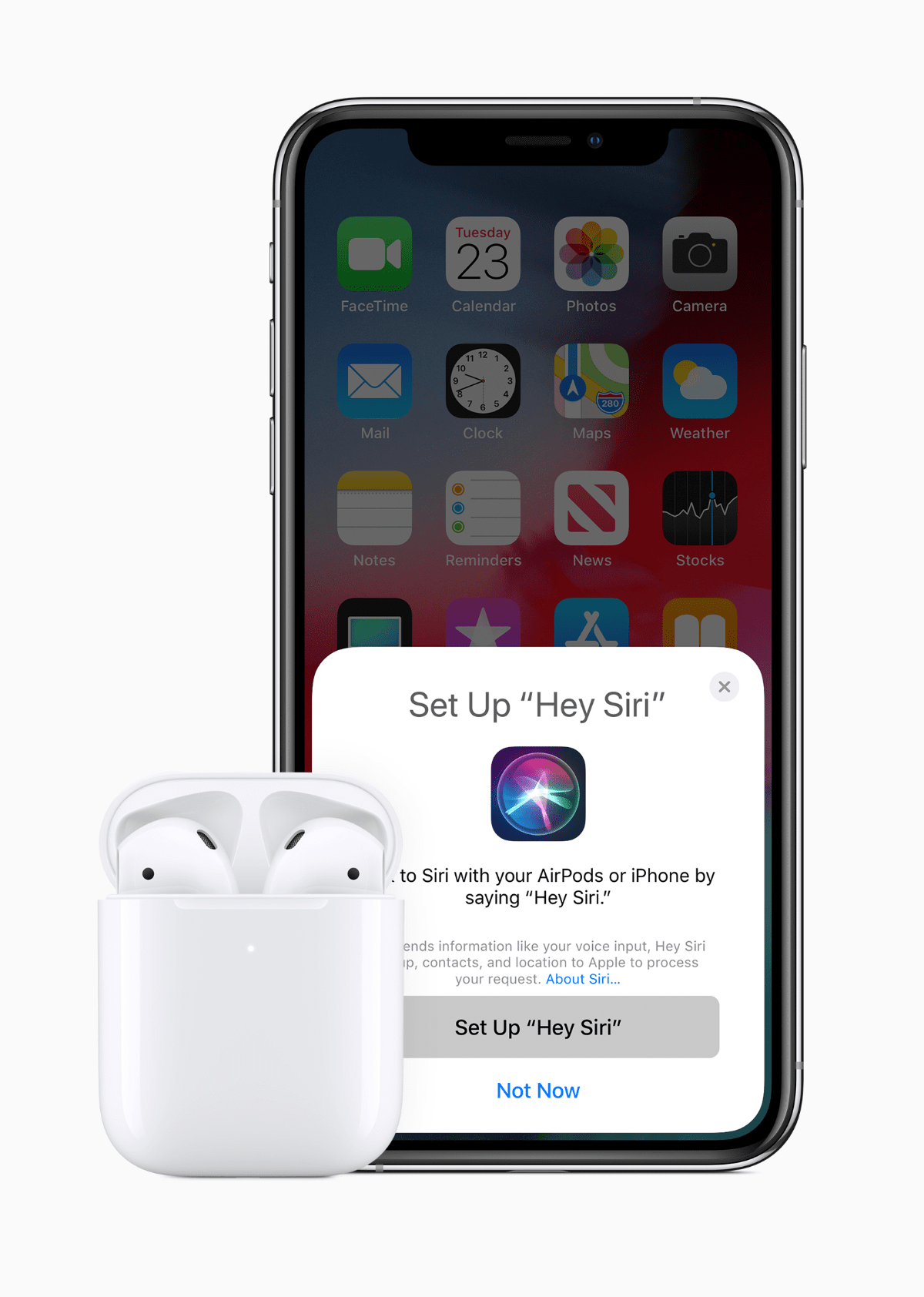 airpods 2 hey siri feature