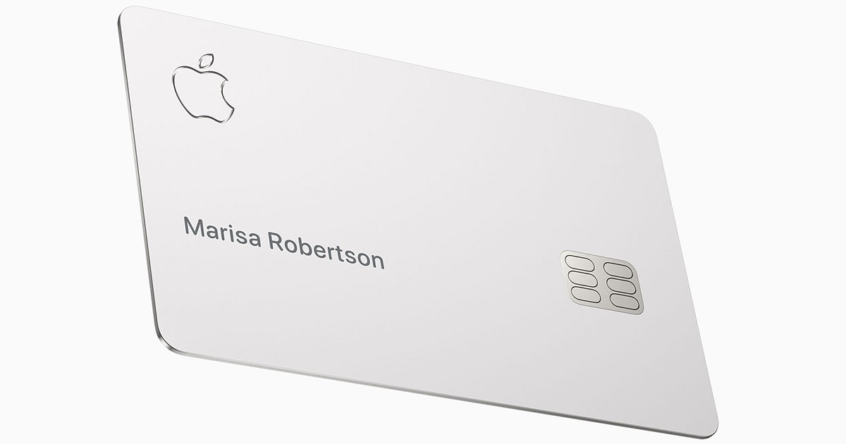 And Now For the Downside of the Apple Card