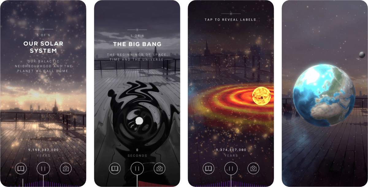 Experience the Big Bang in Augmented Reality