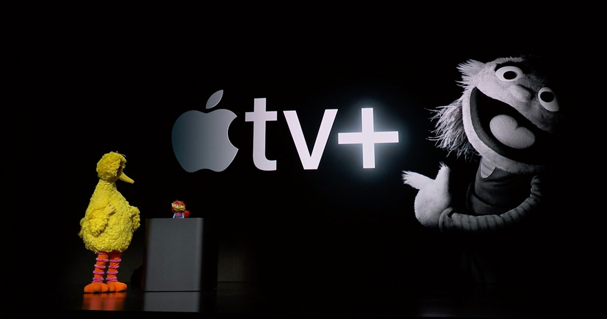 Big Bird and Cody and Apple TV+