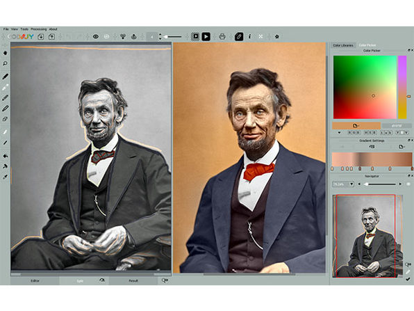 Turn Your Black & White Photos into Vibrant Masterpieces with Simple, Intuitive Strokes: $24.99