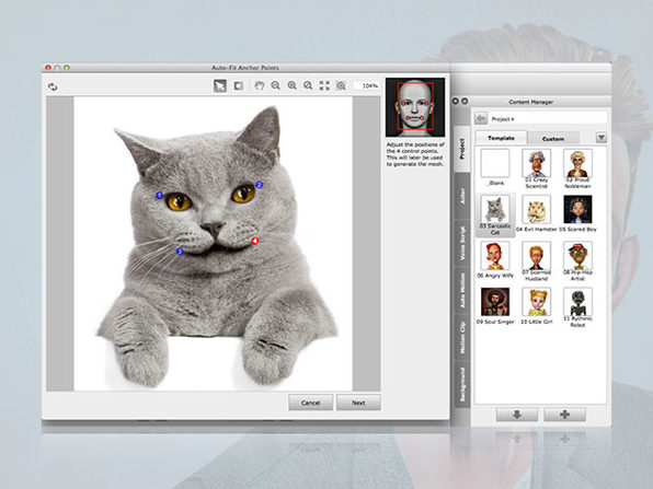Turn Your Photos into Real, Customizable 3D/2D Talking Heads: $55.25