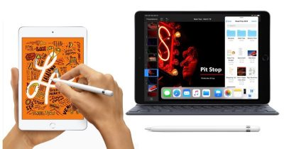 iPad mini 5 and iPad Air (2019)