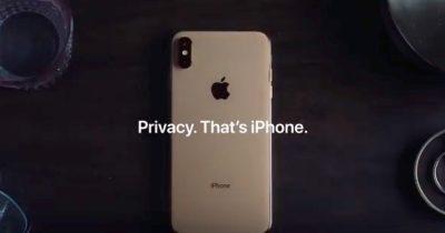 Apple's privacy video ad