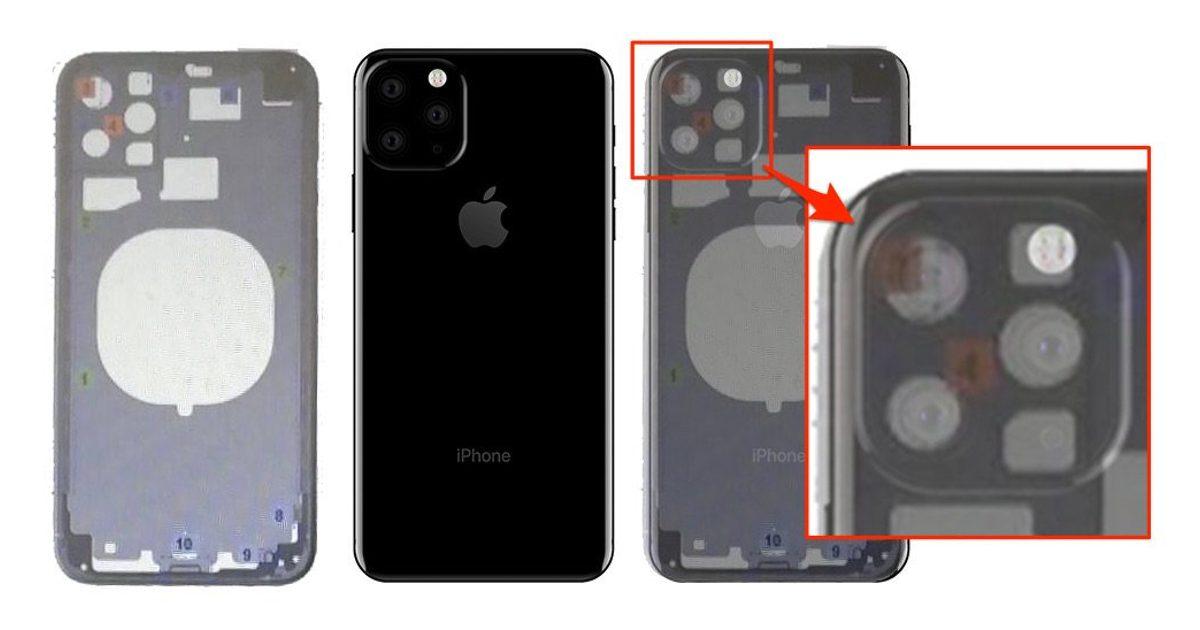 New iPhone Leak Shows Triple Lens Setup