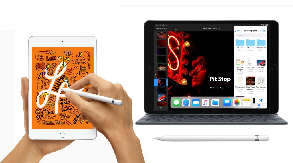 2019 iPad mini and 2019 iPad Air