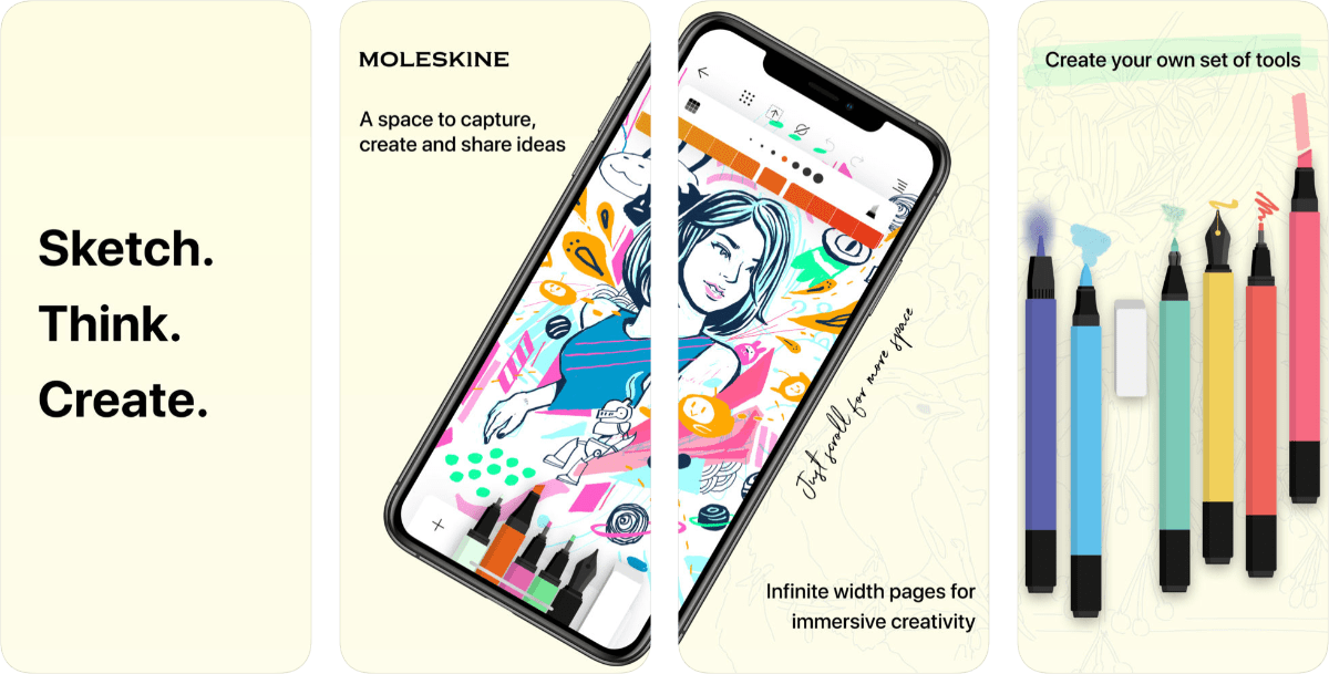 Moleskine Launches Sketch App Called Moleskine Flow