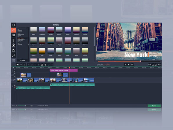 Movavi Video Editor 15 Plus For Mac: $19