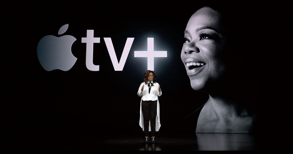 Oprah Winfrey Announcing Her Involvement with Apple TV+