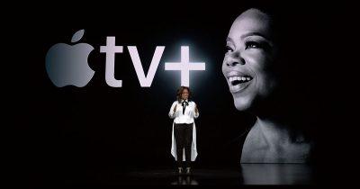 Oprah Winfrey Announcing Her Involvement with Apple TV+