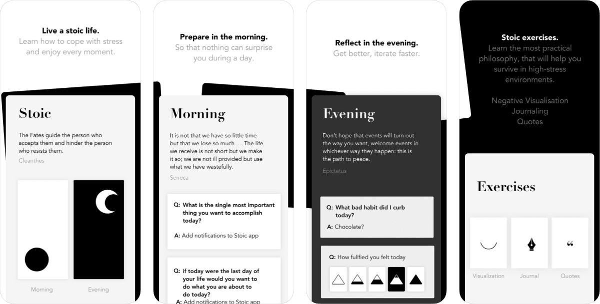 With This App You'll Be Journaling Like a Stoic