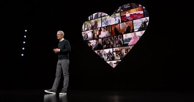 Apple CEO Tim Cook and Apple TV+