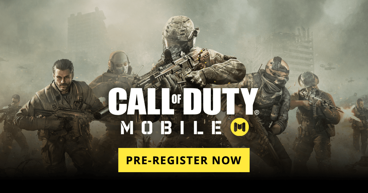 Pre-Register for Call of Duty Mobile on iOS