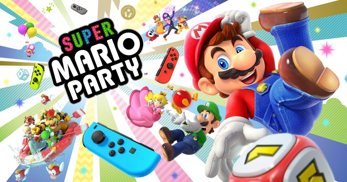 We Finally Have a Super Mario Party Update