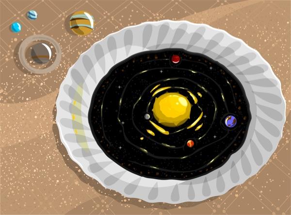 A cosmic soup
