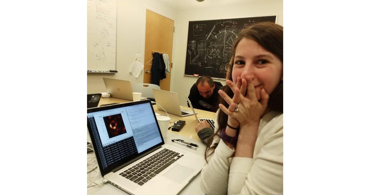 Dr. Katie Bouman – The 29-year-old Scientist Who Beamed a Black Hole Back to Earth