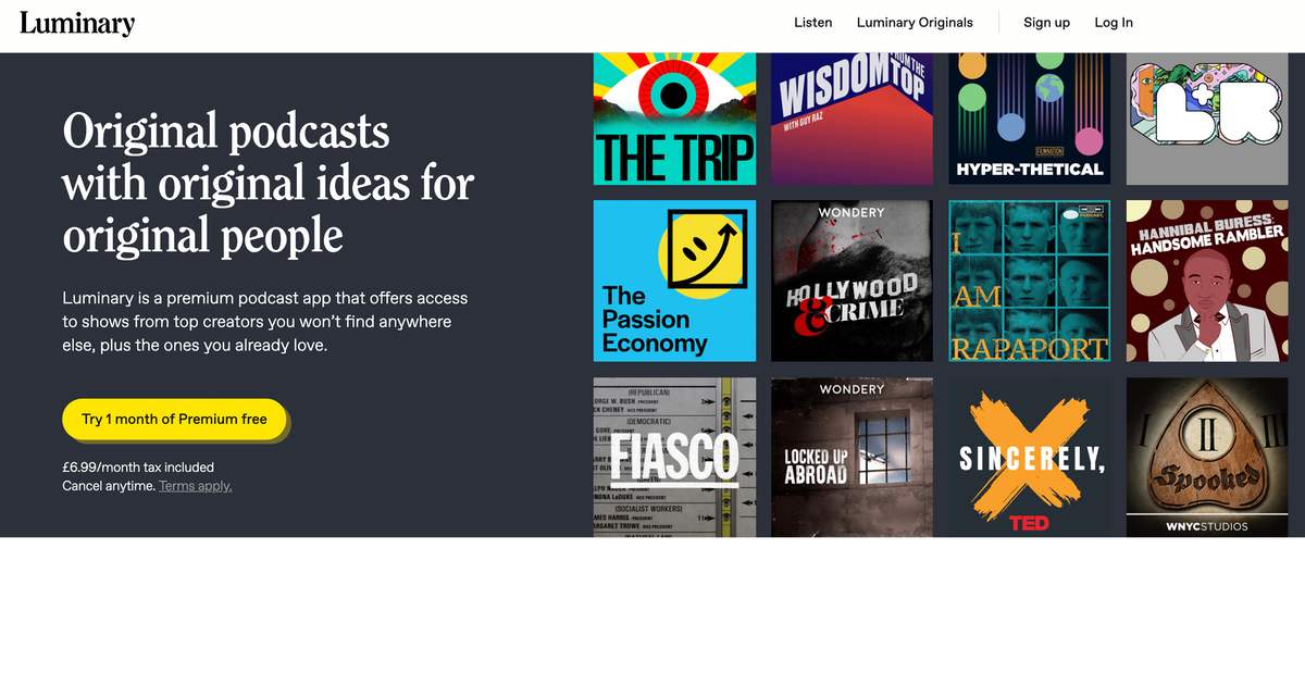 Luminary and the Backlash Against Paid Podcast Subscriptions