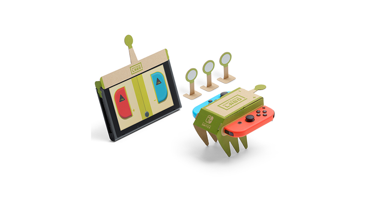 Nintendo Labo: Getting Physical With VR