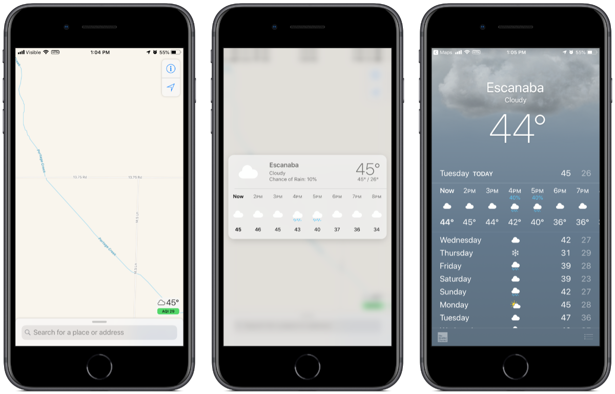iOS 12.2: What Does AQI in Apple Maps Mean? - The Mac Observer on