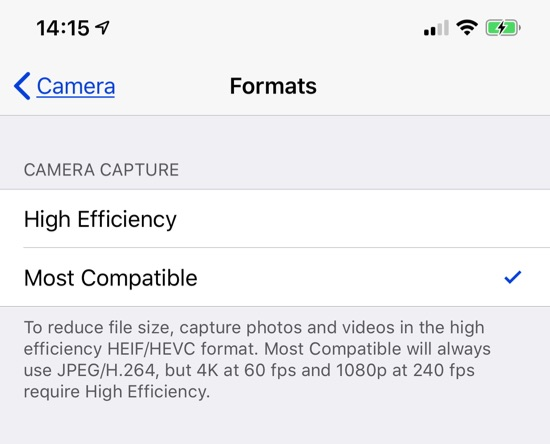 How To Convert iPhone Photos Back to JPG Format - The Mac