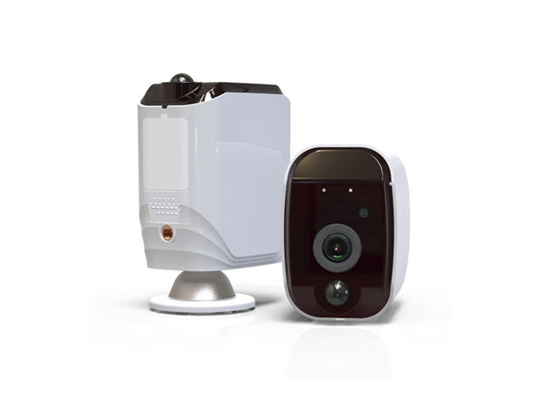 WiFi-Connected, App-Enhanced Security Cam with Night Vision and Motion Detection: $149.99