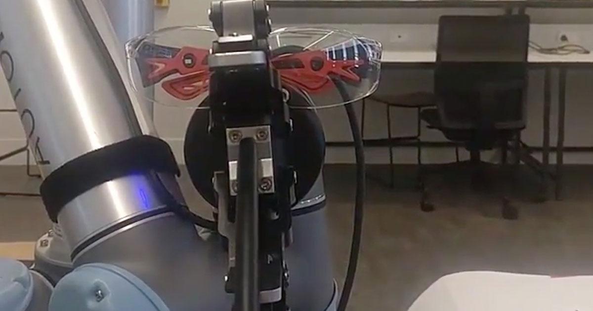 Robot Uprising Mic Drop
