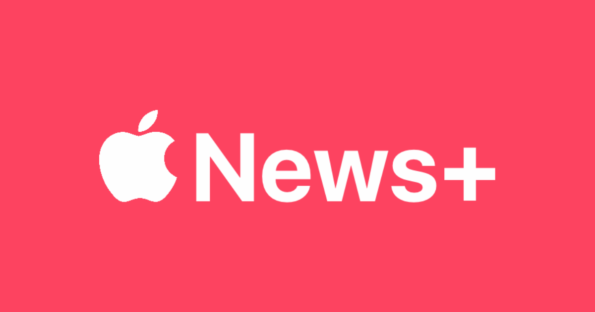 Apple news+ text