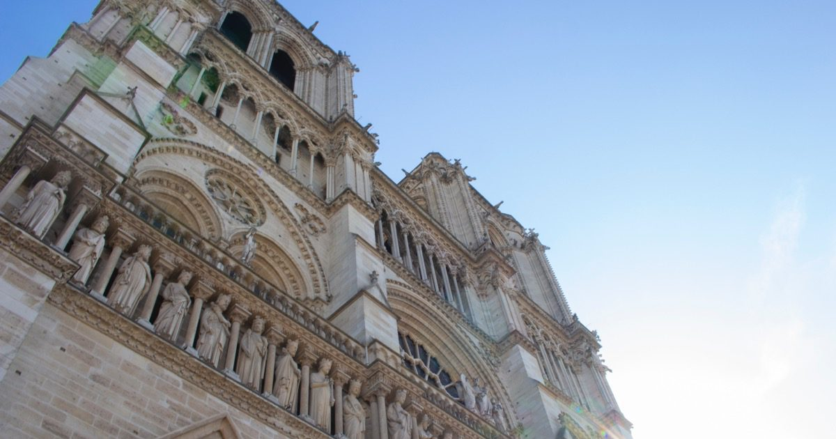 Apple Donates to Notre Dame Rebuilding Efforts