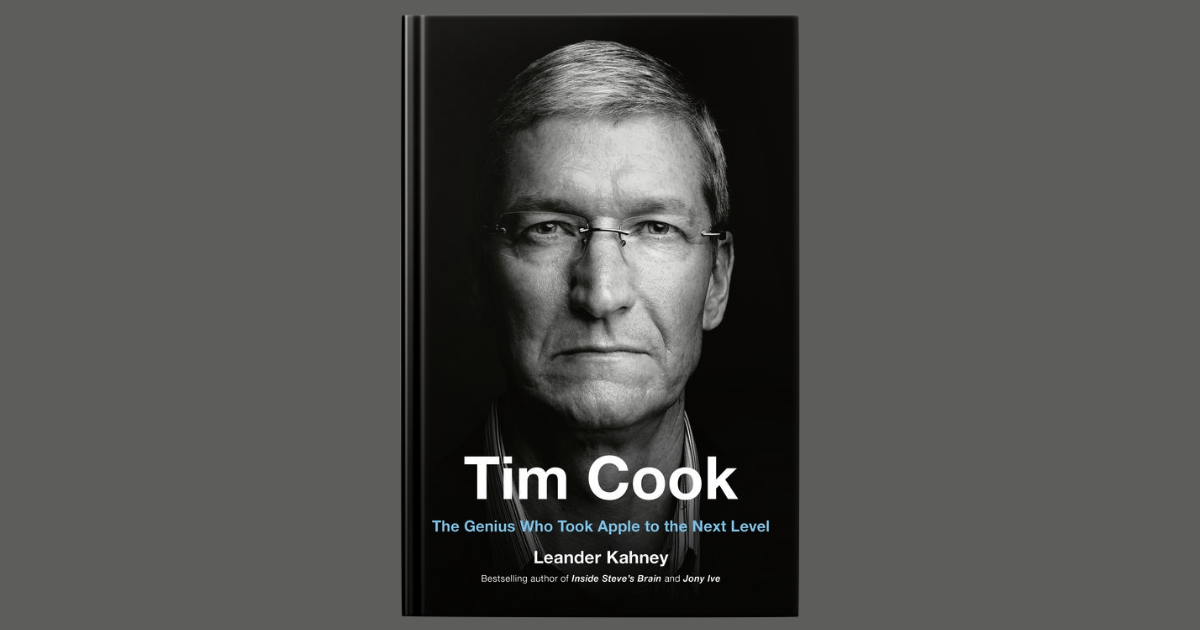 Leander Kahney's Tim Cook Biography Out Today