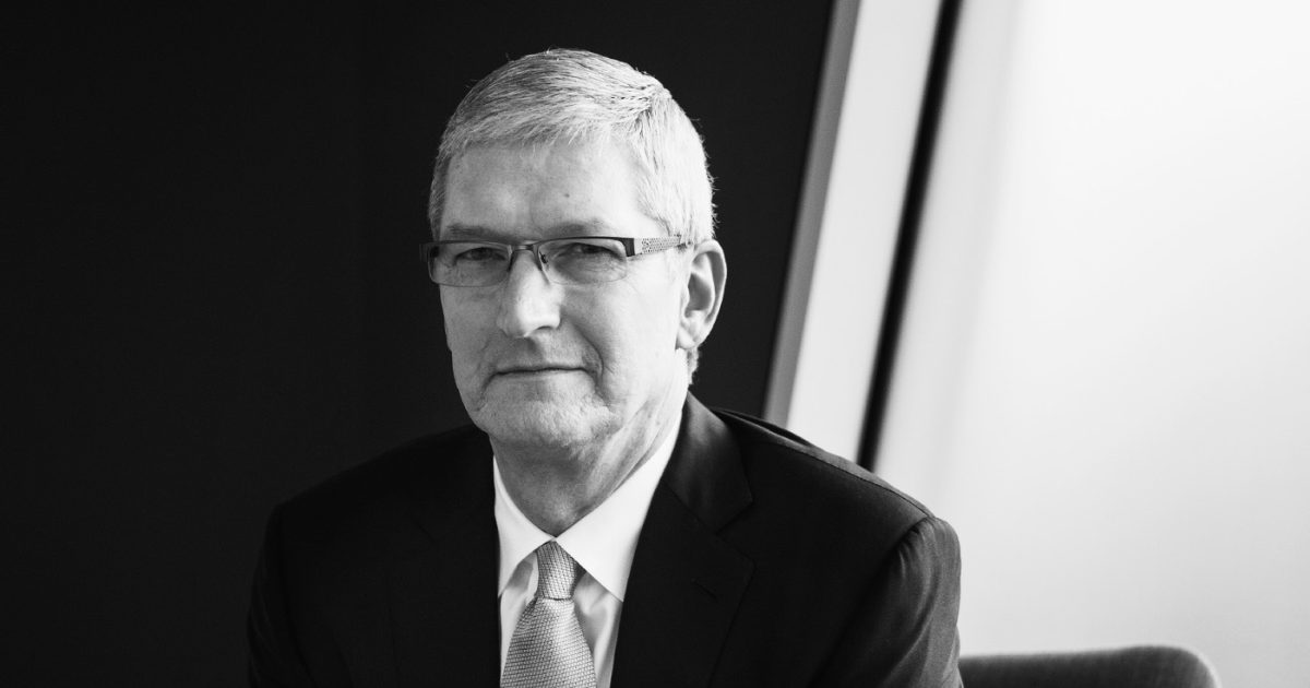 180 CEOs With Tim Cook Want to Redefine a Corporation's Purpose